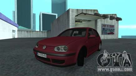 1999 Volkswagen Golf Mk4 for GTA San Andreas