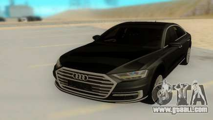 Audi A8 2018 for GTA San Andreas