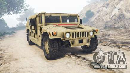 HMMWV M-1116 Unarmed Desert [replace] for GTA 5