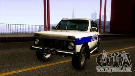 Lada Niva Serbian Traffic Police for GTA San Andreas