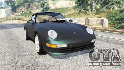 Porsche 911 Carrera S (993) 1995 [replace] for GTA 5