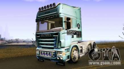 Scania R620 for GTA San Andreas