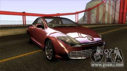 Renault Laguna III Coupe x91 2012 for GTA San Andreas