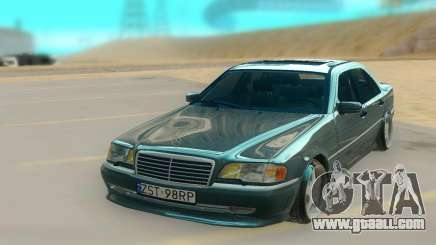 Mercedes Benz W202 Black Bandit for GTA San Andreas
