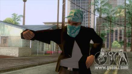 New Varios Los Aztecas Skin 2 for GTA San Andreas