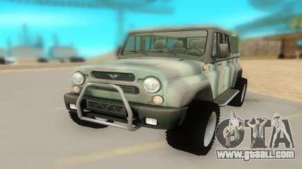 UAZ 29661 for GTA San Andreas