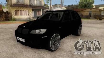 BMW X5M Gordey for GTA San Andreas