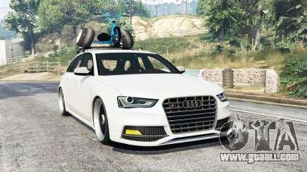 Audi RS 4 Avant (B8) 2014 v1.1 [replace] for GTA 5