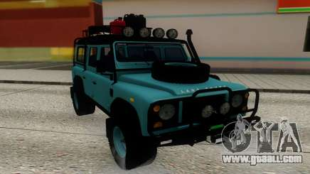 Land Rover Defender Adventure for GTA San Andreas