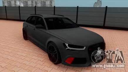 Audi RS6 Avant C7 Bulkin for GTA San Andreas