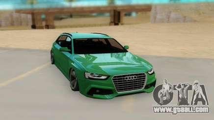 Audi RS4 Avant 2013 for GTA San Andreas