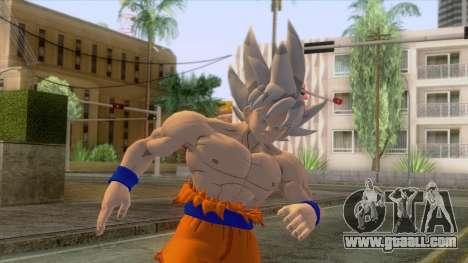 Skin Goku Instinto Superior Dominado for GTA San Andreas