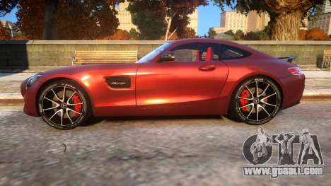 Mercedes-Benz AMG GT3 2016 Baku Version for GTA 4