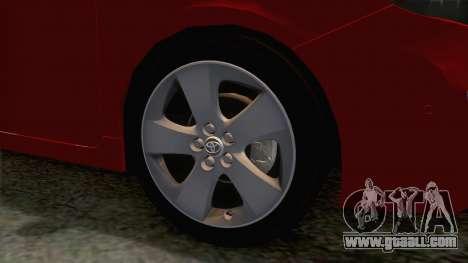 Toyota Prius 2010 for GTA San Andreas