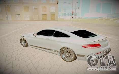 Mercedes-Benz C63S for GTA San Andreas