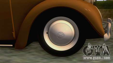Volkswagen Beetle 1996 for GTA San Andreas