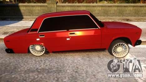 VAZ 2107 Forever Azerbaijan for GTA 4