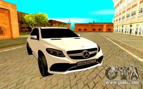 Mercedes-Benz GLC for GTA San Andreas