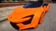 2017 W Motors Fenyr Supersports for GTA 4