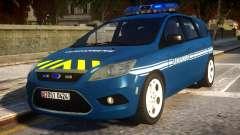 Ford Focus Gendarmerie for GTA 4