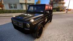 Mercedes-Benz G65 AMG special operations for GTA 4