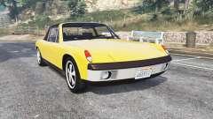 Porsche 914-6 1970 v1.1 [replace] for GTA 5