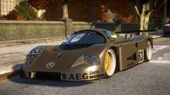 Mercedes C9 PRO le mans VIP car mod REL for GTA 4