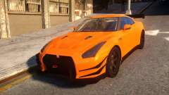 Fast And Furious Nissan GTR for GTA 4
