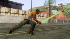 Star Wars - Green Lightsaber for GTA San Andreas