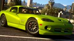 Dodge Viper SRT ACR 2016 for GTA 5