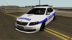 Skoda Octavia Mk3 Policija for GTA San Andreas