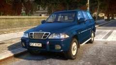 1999 Daewoo Musso HI-DLX for GTA 4