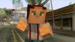 Jesse Minecraft Story Skin for GTA San Andreas