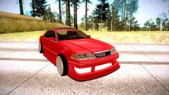 Toyota Mark 2 red for GTA San Andreas