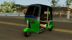 Indian Tuk Tuk Rickshaw (Indian Auto) for GTA San Andreas