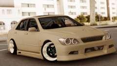 Toyota Altezza silver for GTA San Andreas