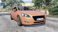 Peugeot 508 GT 2010 v1.1 [replace] for GTA 5