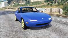 Mazda MX-5 (NA) 1997 v1.1 [replace] for GTA 5