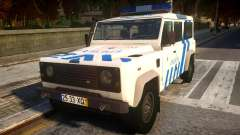 Land Rover Defender Police for GTA 4