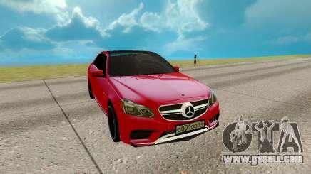 Mercedes-Benz E Class E63 for GTA San Andreas