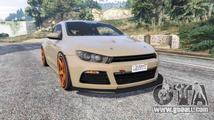 Volkswagen Scirocco v1.1 [replace] for GTA 5
