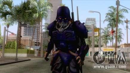 Kerberos Panzer Cop Blue Skin for GTA San Andreas