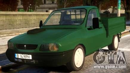 Dacia Drop-Side for GTA 4