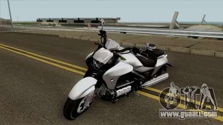 Honda Valkyrie GL1800C 2015 for GTA San Andreas