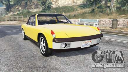 Porsche 914-6 1970 v1.1 [replace] for GTA 5