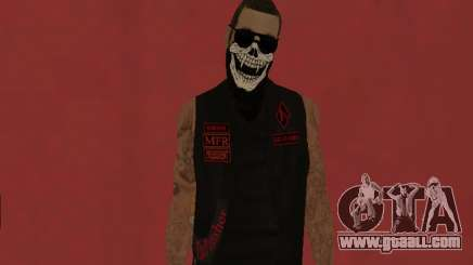 The Punisher MFR biker gang for GTA San Andreas