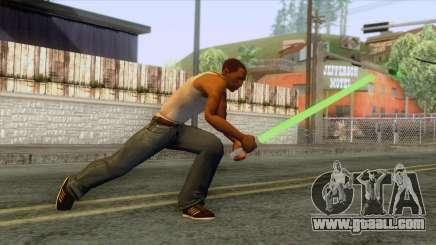 Star Wars - Green Lightsaber for GTA San Andreas