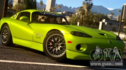 1999 Dodge Viper GTS ACR 1.4 for GTA 5