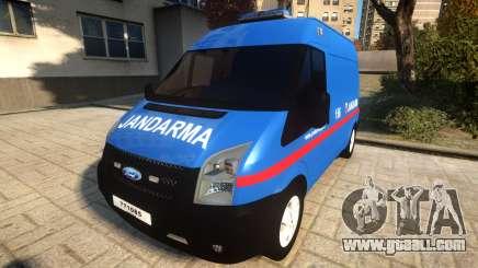 Ford Transit Jandarma for GTA 4