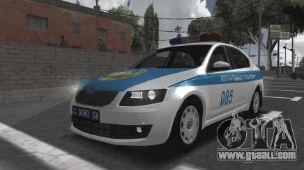 Skoda Octavia Mk3 Kazakh Police for GTA San Andreas